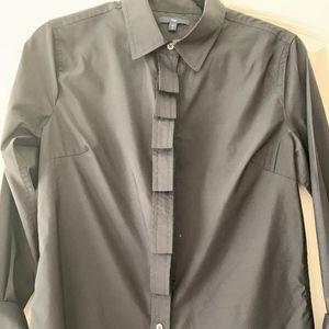 Gap Ruffled Dress Shirt